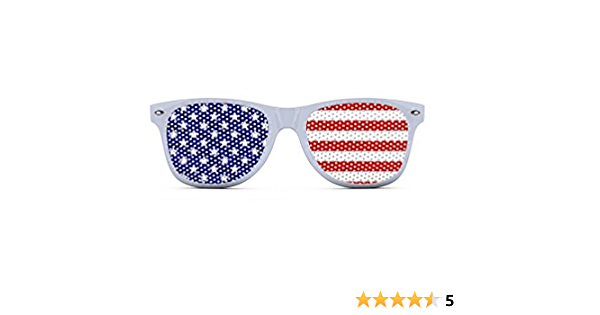 Bud Red White Blue Classic Sunglasses Dark Grey Lenses Free Shipping in USA 2