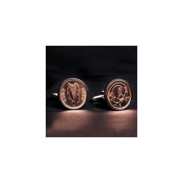 Irish-12p-Copper-cufflinks-7-year-anniversary