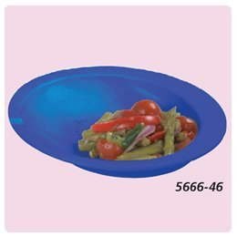 Round Scoop Dish. - Blue Package of 5 - Model 56664605