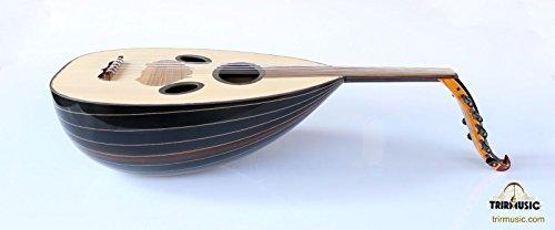 Syrian Quality Handmade Walnut String Instrument Oud Ud ASO-108 by trirmusic