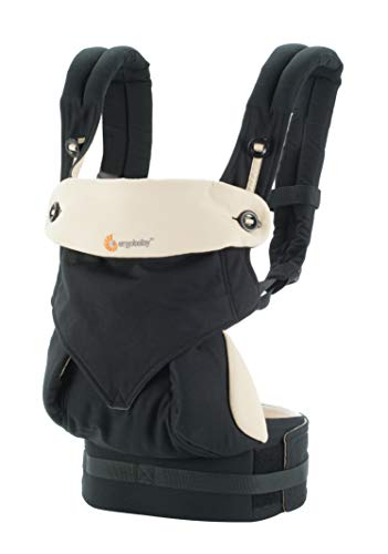 Ergobaby Carrier, 360 All Carry Positions Baby Carrier, Black ()