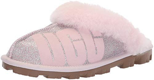 UGG Women's W Coquette Sparkle Slipper, Seashell Pink, for sale  Delivered anywhere in USA