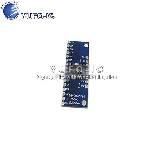 (SAUJNN CD74HC4067 High-Speed CMOS 16-Channel Analog multiplexer Analog/Digital)