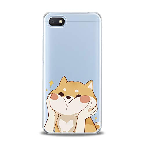 Lex Altern TPU Case for Xiaomi Mi 9 A2 A1 Note 3 8 SE Mix 2s 5X 6X 8X Clear Kawaii Cute Shiba Inu Cover Adorable Print Protective Lightweight Doggy Women Soft Silicone Transparent Flexible Teen Girl]()