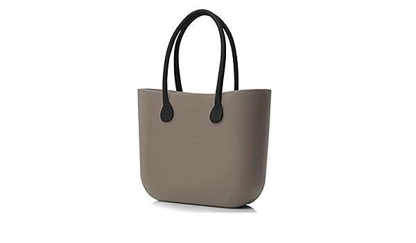 bolso O Bag armazón roca + Asas Largos marrones + Bolsa: Amazon.es: Zapatos y complementos