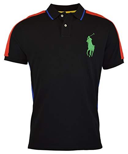 Polo Ralph Lauren Mens Custom Slim Fit Big Pony Polo Shirt