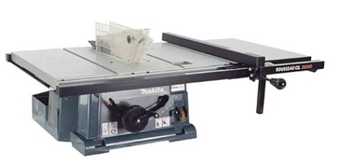 Rousseau 2600 Portamax Jr Table Saw Table Top And Fence System 0725825260032 Buy New And