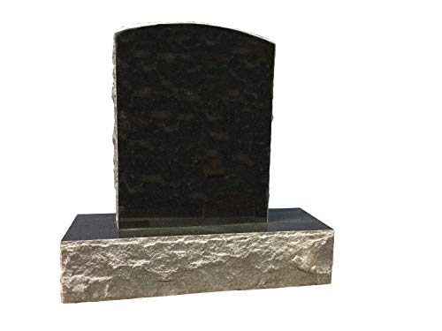 Absolute Black Granite Upright Monument Gravemarker Headstone Gravestone MN-250