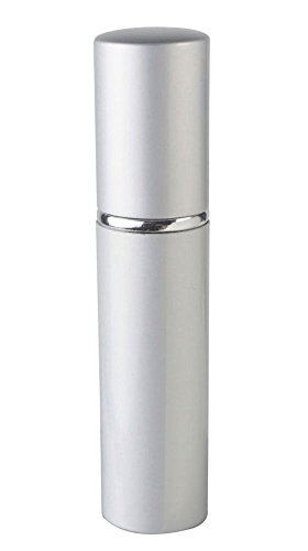 Silver Refillable Travel Perfume Bottle