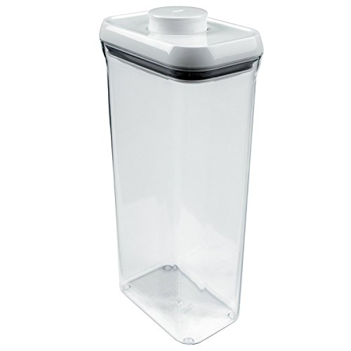 OXO Good Grips POP Square Food Storage Container, Rectangle Lid, Tall - 3.4 Qt