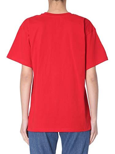 Moschino shirt T Rojo Mujer Algodon 071105407115 0qWarH7z0