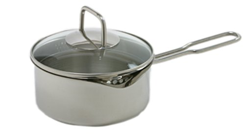 Norpro KRONA 1.5 Quart Vented Sauce Pan with Straining Lid