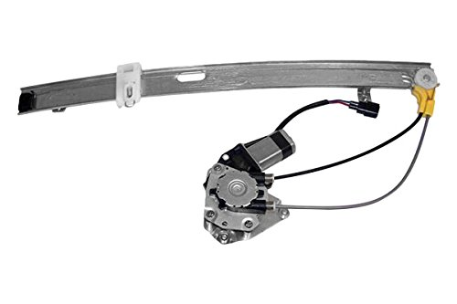 (APDTY 111423 Window Motor Regulator Assembly Fits Rear Right Passenger-Side 2002-2006 Jeep Liberty (2006 Models Built Up To 2-25-2006; Replaces 68059646AA, 55360034AJ, 55360034AB, 55360034AD))