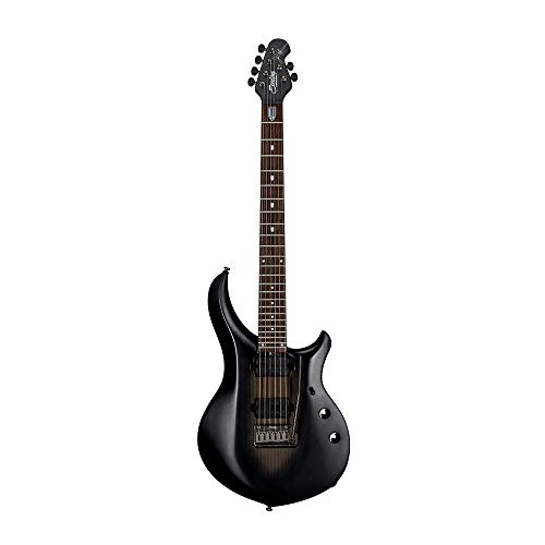 Sterling By MusicMan 6 String Sterling by Music Man, Majesty, John Petrucci Signature Guitar, MAJ100, Stealth Black, (MAJ100-SBK)