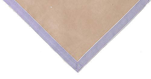 "Sanders Classics 44"" Taupe Card (Bridge) Table Cover"