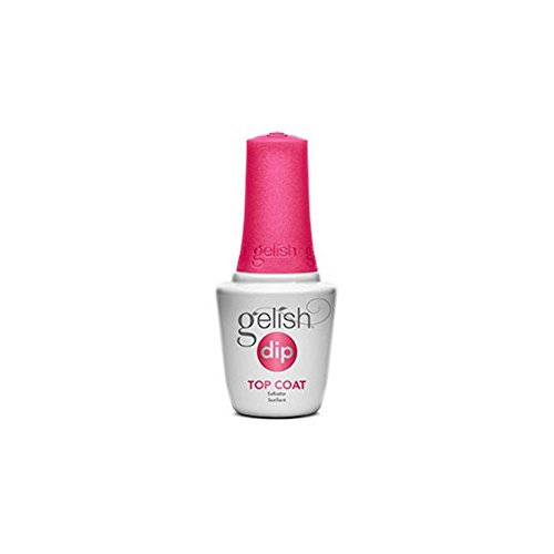 Hand & Nail Harmony Harmony Gelish Nail Dip Liquid, Top Coat Step 4, 0.5 Ounce (Dip Relish)