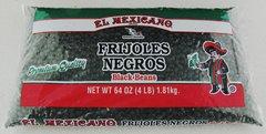 El Mexicano Black Beans 4 lbs by El Mexicano