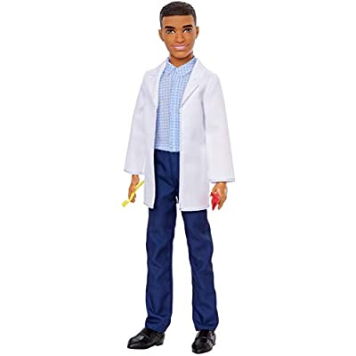 Barbie Ken Dentist Doll with 2 Dental Accessories: Toys & Games