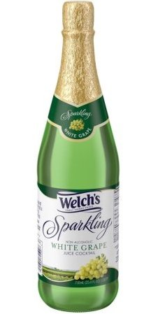 Welch's Sparkling White Grape Juice 25.4 oz. (Pack of -