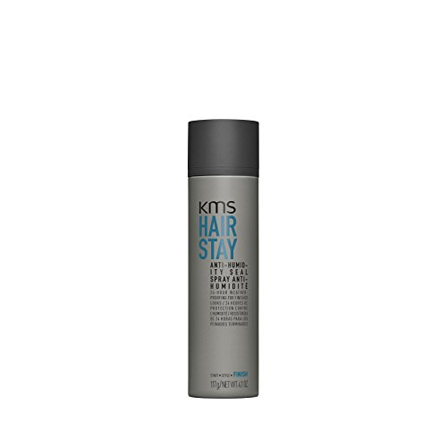 KMS HAIRSTAY Anti-Humidity Seal Spray - Weightless, Natural Shine, Flexible Shield, Unisex, 4.1 oz by KMS