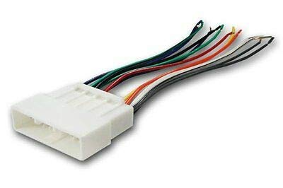 Absolute USA H804/1720 Radio Wiring Harness for Honda/Acura 1986-1998 Power 4 Speaker (70-1720, HWH-804) ()