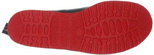 Ilse Jacobsen Womens Rub 33 Botte De Pluie Noir / Rouge