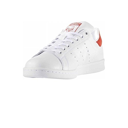 Sneaker White Stan Uomo White Footwear Smith Footwear Collo Wei Red adidas Basso a AFEfq