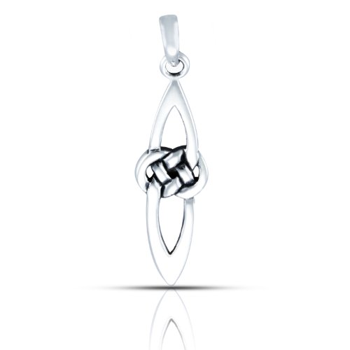 WithLoveSilver 925 Sterling Silver Celtic Pendant