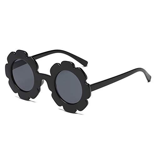 5aa0a3f6c5b0 Amazon.com: Nrpfell Vintage Kids Sunglasses Child Sun Glasses Round Flower  Glasses Baby Children Uv400 Sport Sunglasses Girls Boys Leopard: Sports &  ...