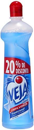Limpador Vidrex Tradicional, Veja, 500 ml