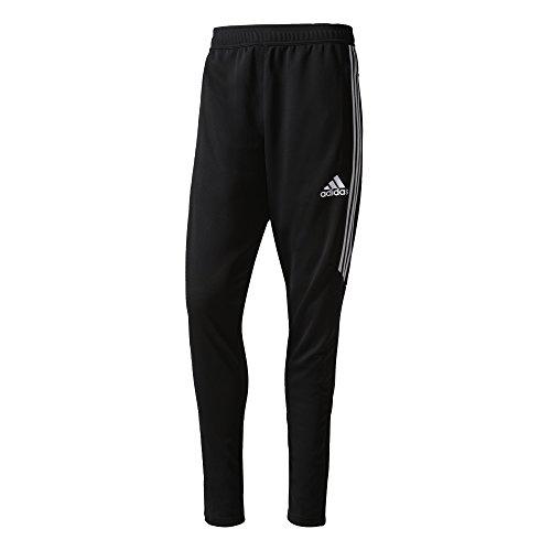 adidas+Men%27s+Soccer+Tiro+17+Pants%2C+Large%2C+Black%2FWhite%2FWhite