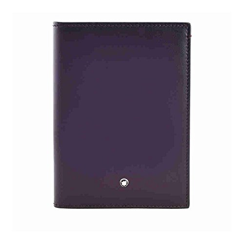 Montblanc Meisterstuck Dark Purple Passport Holder by MONTBLANC