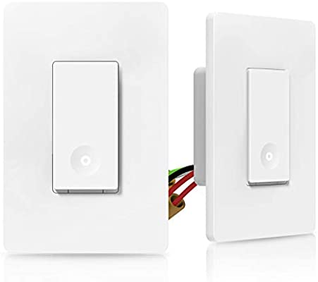 Pleasant 3 Way Smart Light Switch Wifi Light Switch Single Pole Or 3 Way Wiring Cloud Hisonuggs Outletorg