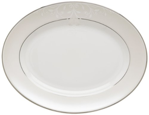 Lenox Opal Innocence Scroll 13-Inch Platter