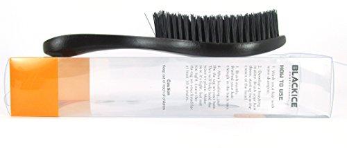 Hard Brush (Black Ice Magic Wave 9.25'' Curved Wave Brush Hard Premium)