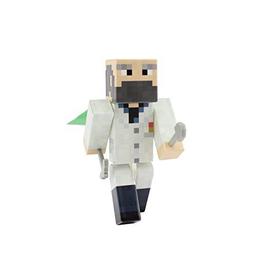 "Doctor Pixelaction Figure by EnderToys - 4"" plastic action figure"