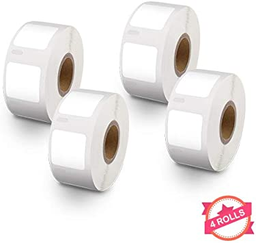 3 Rolls of 750 Multipurpose Labels For DYMO 30332 LabelWriter 400 450 Twin Turbo