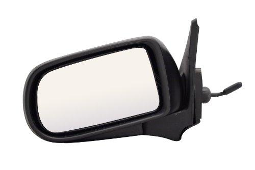 - Pilot MZ1429410-0L00 Mazda Protégé Black Manual Remote Replacement Driver Side Mirror