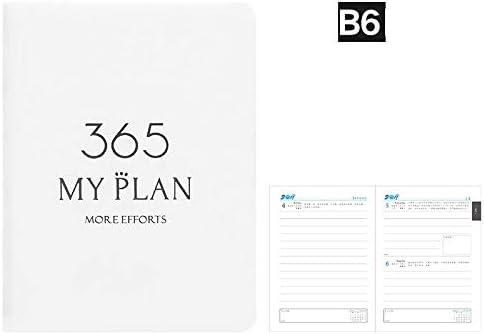 2020 planer tagebuch 2020 tagebuch zeitplan notizbuch tragbares notizbuch zeitplan-B6-white tagesplaner