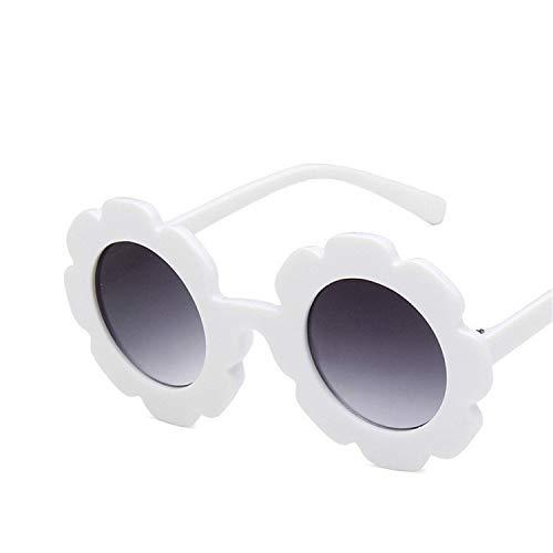 2019 NEW Sun Flower Round Cute kids Vintage Round Sunglasses Fashion Children Sun Glasses For Boy Girls Infant Eyewear ()