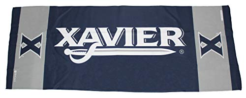 (Xavier Musketeers Cooling Towel, 1 Sided, 12x30 inches)