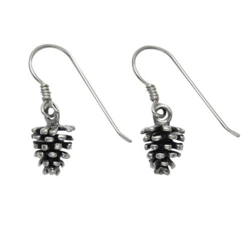 Sterling Silver Austrian Pinecone Wire -