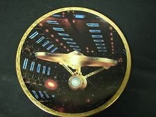 Star Trek U.S.S. ENTERPRISE NCC 1701-A The Voyagers Collector's Plate - with COA (mc)