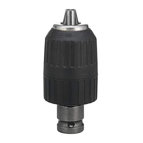 - Drill Set - 1pcs Steel Black Self-locking Head Electric Wrench Drill Bit Accessories 1/2'' 12.5mm - Natoni