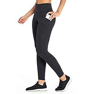 Marika Plus Size Cameron High Waist Tummy Control Legging, Black, 3X