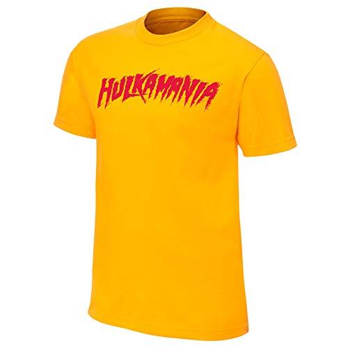 Hulk Hogan Hulkamania Yellow T-Shirt 2XL