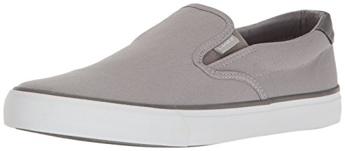 Lugz Men's Clipper Fashion Sneaker Alloy/Charcoal/White 10.5 M ()