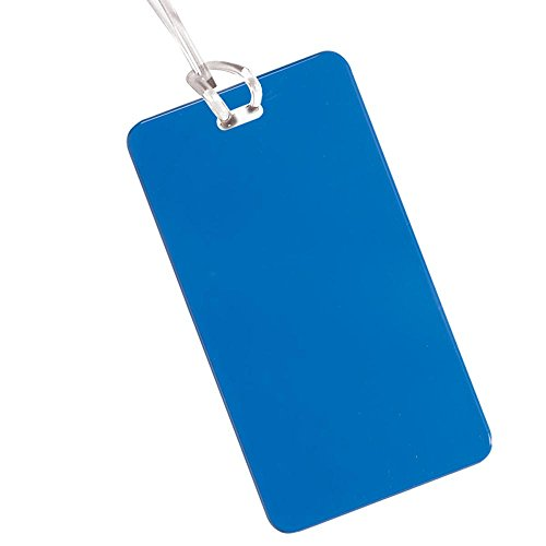 Hi Flyer Luggage Tag - 400 Quantity - $0.85 Each - PROMOTIONAL PRODUCT / BULK / Branded with YOUR LOGO / CUSTOMIZED by Sunrise Identity (Image #2)
