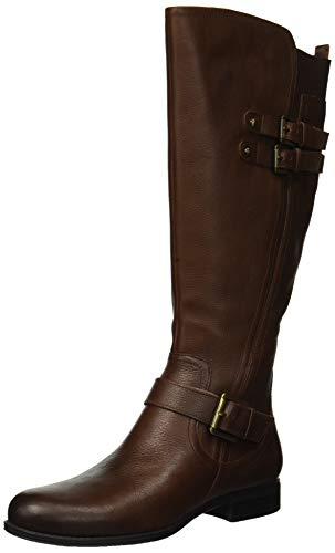 Naturalizer Women's Jessie Knee High Boot, Chocolate, 8 M US