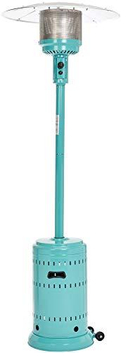AmazonBasics Commercial Patio Heater, Bahama Blue
